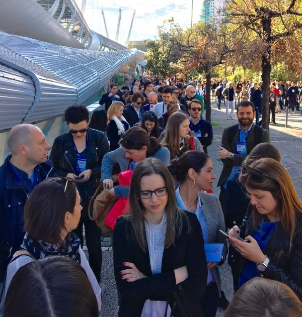 Networking was in the air at the Web Summit 2016
