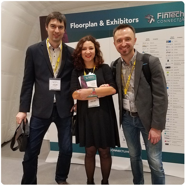 Perfectial team at fintech commect live 2016