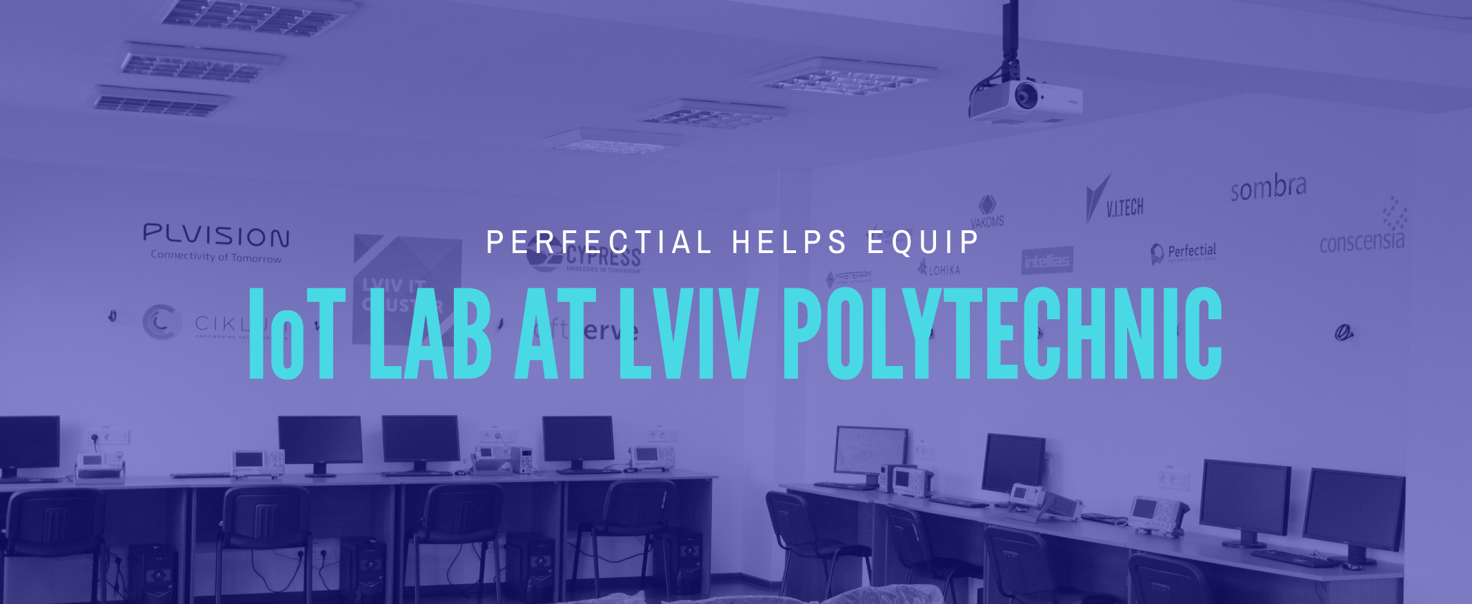 Perfectial Helps Equip IoT Lab at Local Polytechnic University