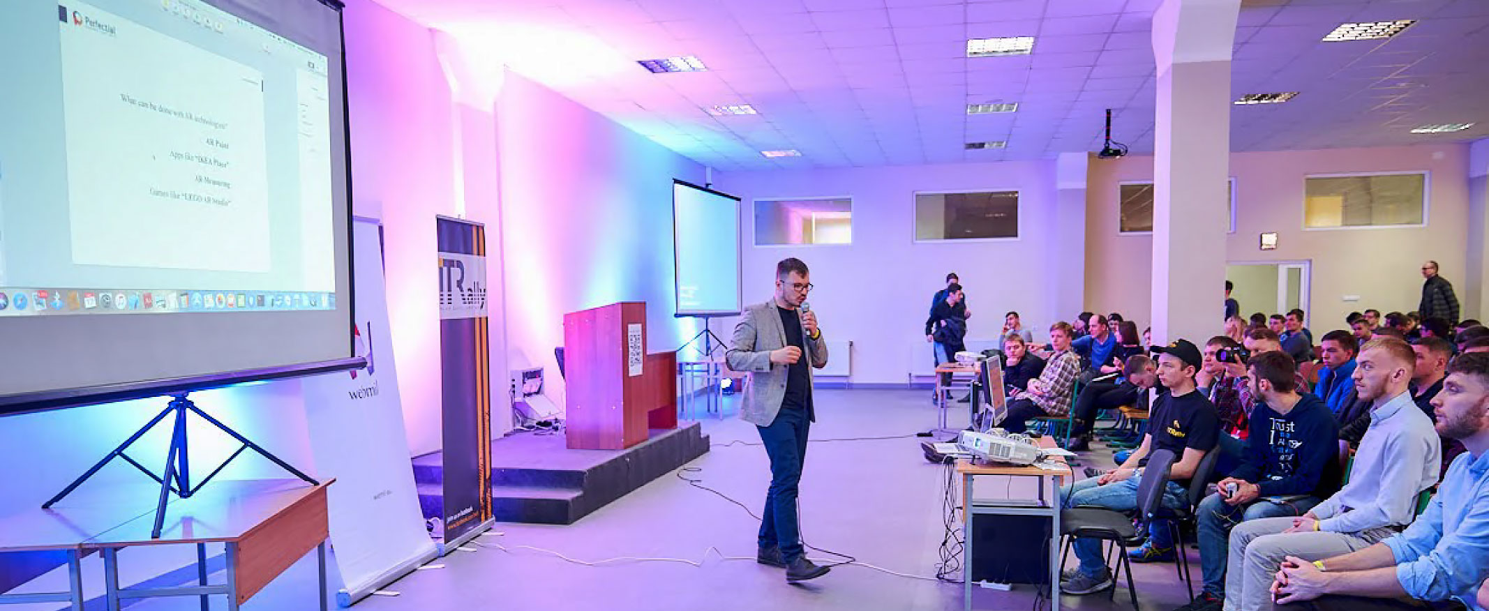 Perfectial Joins Ivano-Frankivsk IT Community and Participates in IT Rally Starters 2018