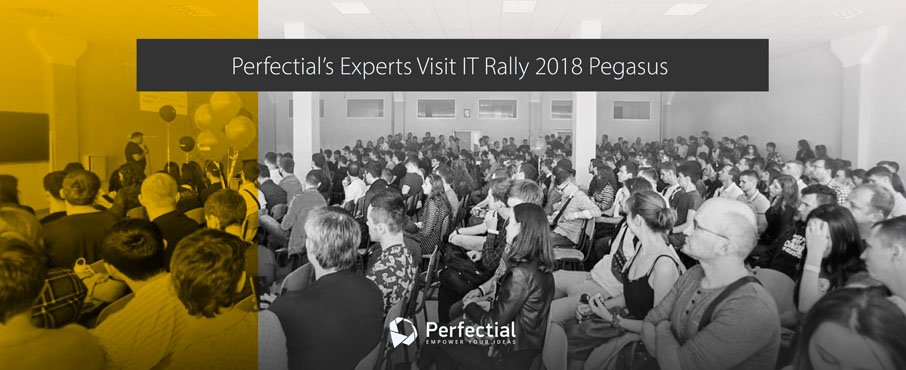 Perfectial's Experts Visit IT Rally 2018 Pegasus