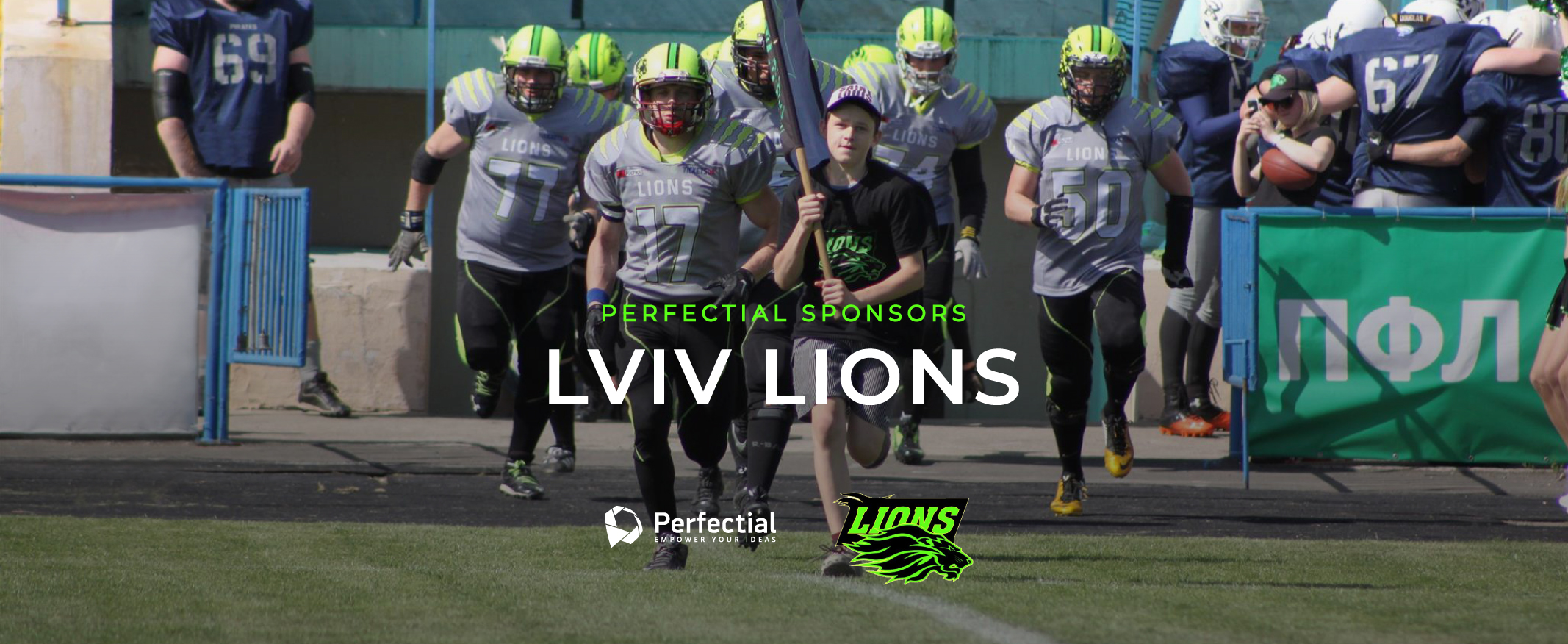 Perfectial to Sponsor Lviv Lions American Football Team