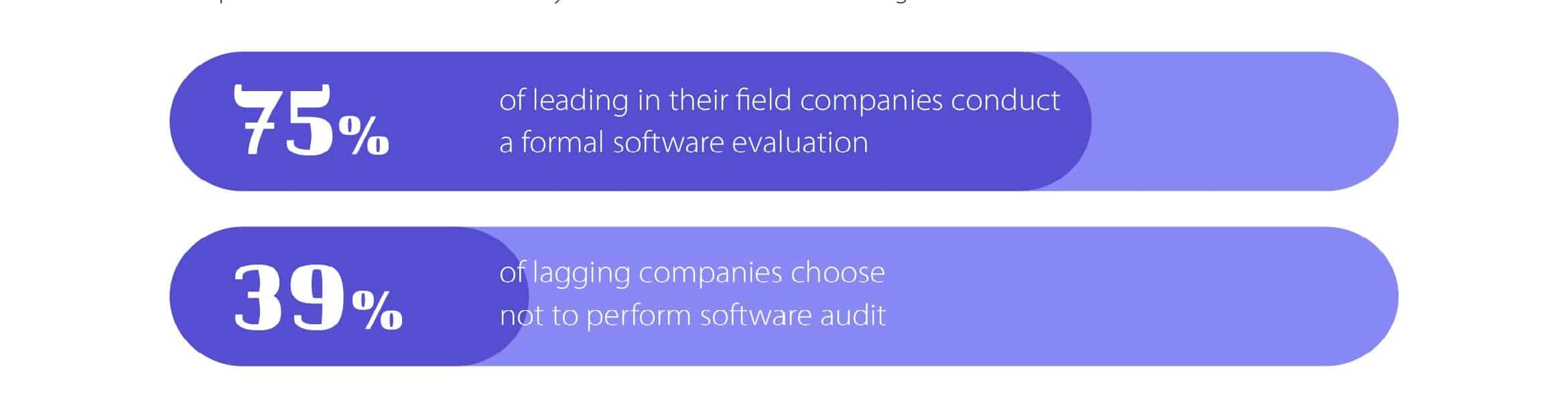 software audit in numbers